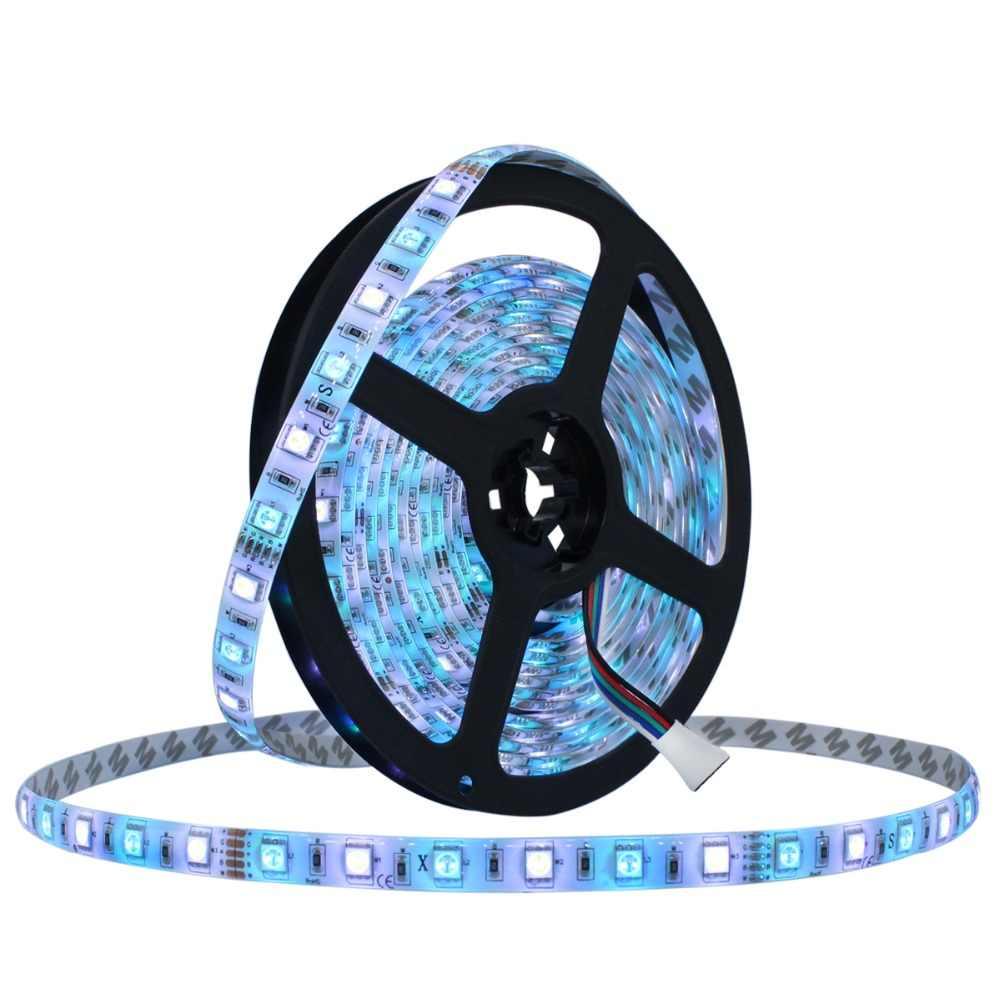 LAIMAIK bandes lumineuses avec auto-adhésif, ruban lumineux à bande de LED 12 m, 300
