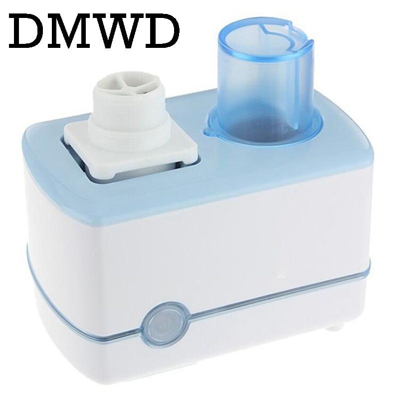 DMWD Water bottle ultrasonic humidifiers Mist Maker Air humidifier steam Diffuser MINI Fogger Home Office Car 100-240V 110V 220V