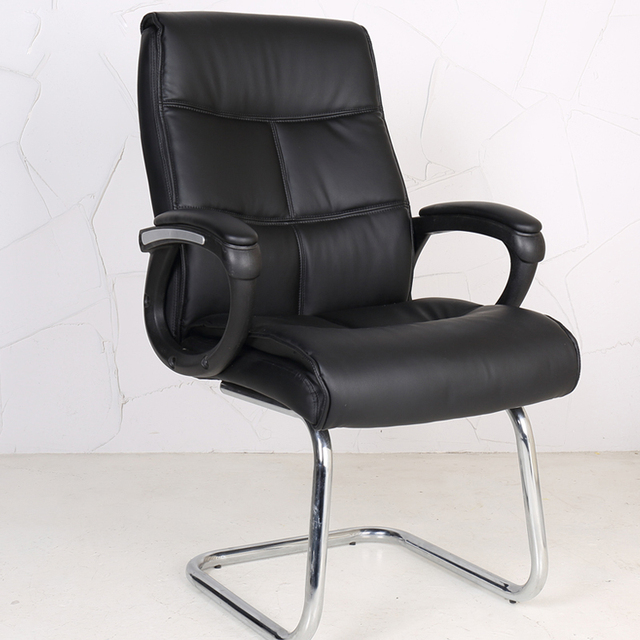 Best Price Modern Simple Bow Shaped Legs Computer Chair