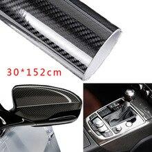 См 30*152 см 5D гладкое углеродное волокно изменение цвета защитная наклейка пленка для салона автомобиля ПК телефон мотоцикл автомобильные принадлежности