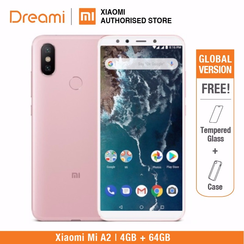 Image 4 - Global Version Xiaomi Mi A2 64GB ROM 4GB RAM  (Brand New and Sealed) mia2 64gb-in Cellphones from Cellphones & Telecommunications