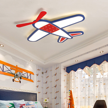 New Arrival Fly Dream Plane Modern Led Ceiling Lights For Bedroom Children Kid's Room Home Dec Surface Mounted Ceiling Lamp