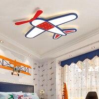 New Arrival Fly Dream Plane Modern Led Ceiling Lights For Bedroom Children Kid's Room Home Dec Surface Mounted Ceiling Lamp