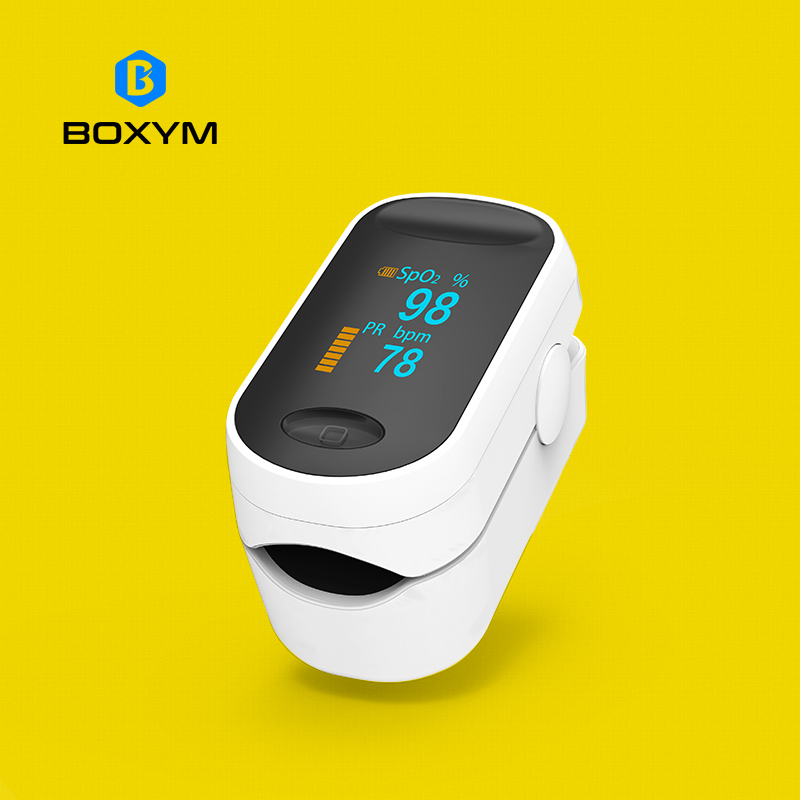 BOXYM Medical Portable Pulse Oximeter OLED Pulsioximetro Spo2 blood oxygen Heart Rate Monitor Oximetro De Dedo Household Health цены онлайн