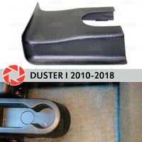 Couverture de Tunnel arrière pour Renault Duster 2010-2018 sous les pieds garniture accessoires protection tapis décoration de voiture
