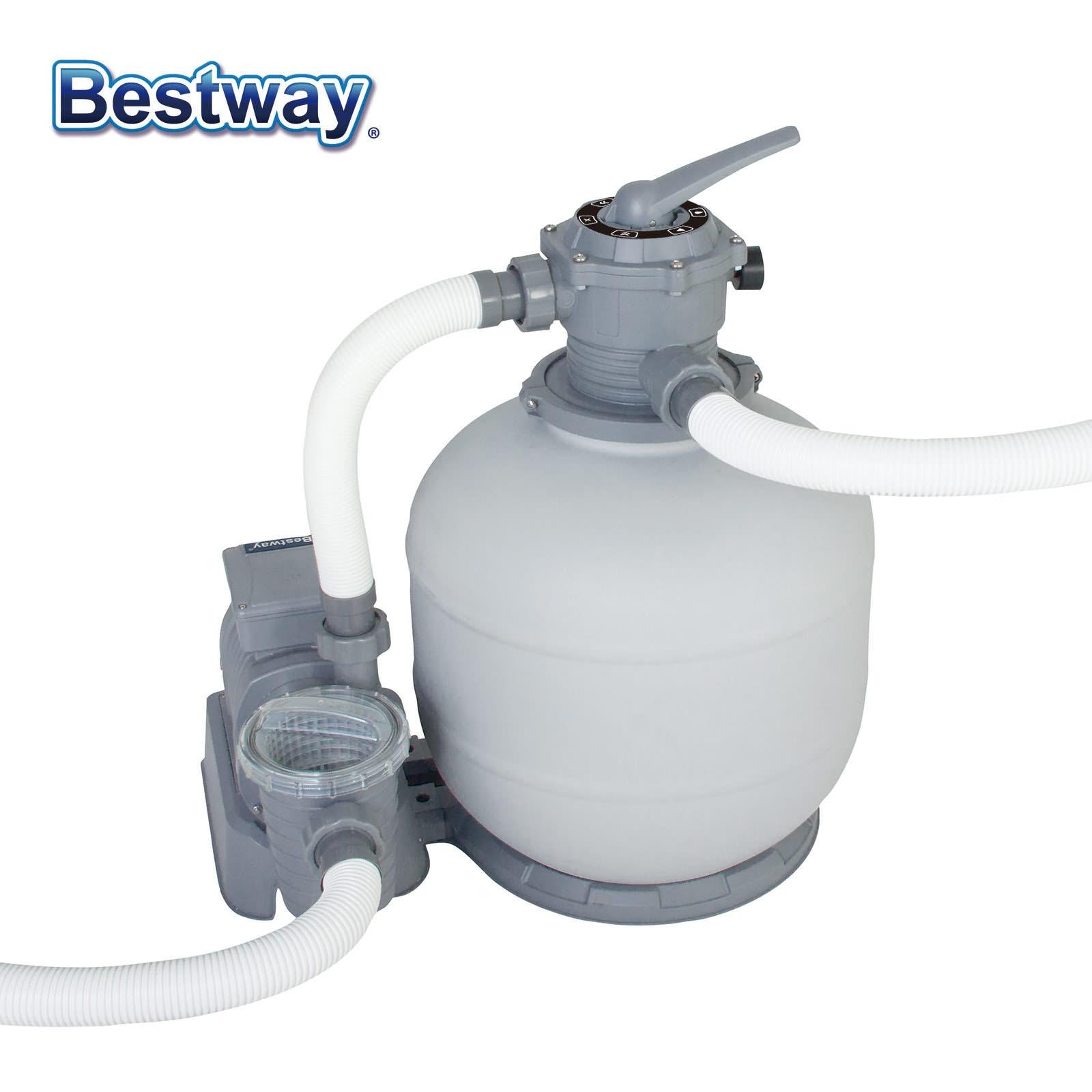 Bestway Flowclear Filtre À Sable 10 Pompe pour Piscines Hors Sol