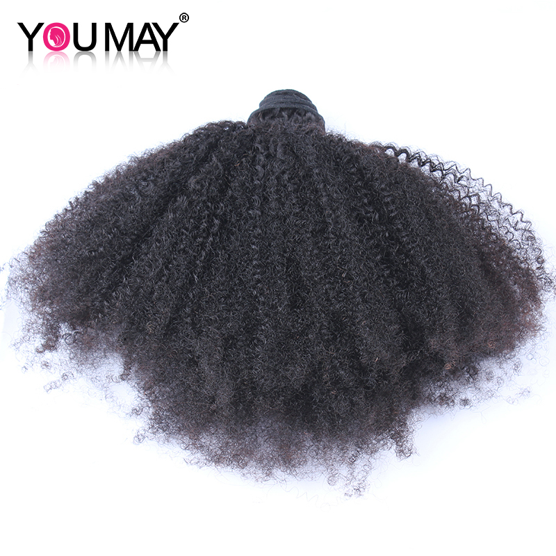Afro Kinky Curly Hair Brazilian Hair Weave Bundles 100% Human Hair Extension Remy Hair You May