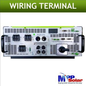 Image 2 - (MPI) 5000w híbrido rejilla inversor solar atado inversor Solar + fuera de la red solar inversor, entrada máxima PV 900vdc, paralelo able característica