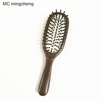 MC Fashion Hairbrush Hair Brush Care Of Pure Natural Black Sandalwood Ebony Comb High grade Cushion Airbag Massage Comb