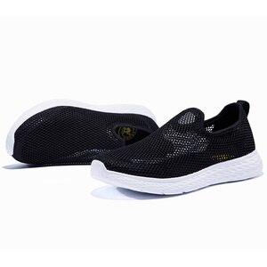 Image 5 - Deve erkek ayakkabıları nefes erkekler rahat ayakkabılar örgü hafif yastıklama MD alt açık erkek sandalet erkek ayakkabı boyutu 46