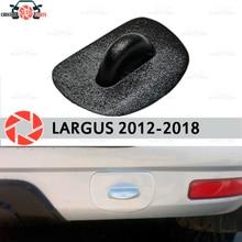 Буксирная петля вилка для Lada Largus 2012-2018 ABS пластиковые аксессуары защита украшения заднего бампера стайлинга автомобилей