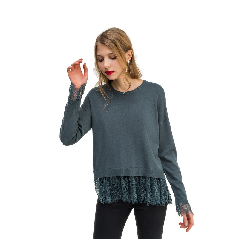 Sweaters jumper befree for female  sweater long sleeve women clothes apparel woman turtleneck pullover 1811556861-12 TF