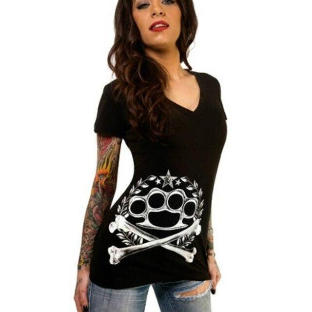 Summer TShirt Skull Print...