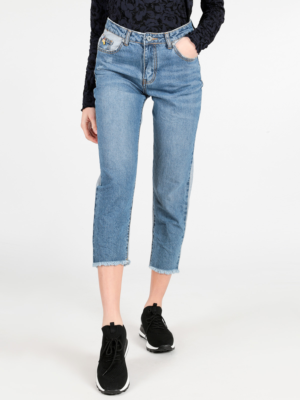 Boyfriend Jeans Two-color