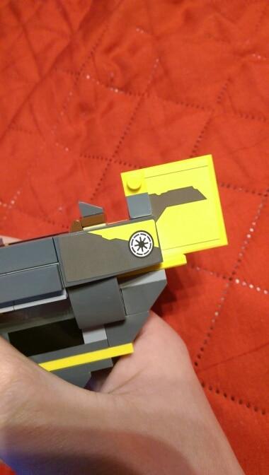 LEPIN 05144 Star Wars The 75214 Anakin`s Jedi Starfighter Block Set (277Pcs) photo review