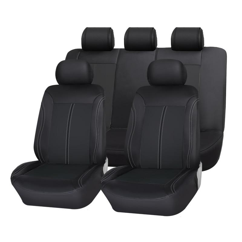 Nuevo lujo de cuero de la PU Auto Universal Fundas de asiento de coche cubierta de asiento de coche automotriz para coche lifan x60 para coche lada vesta granta