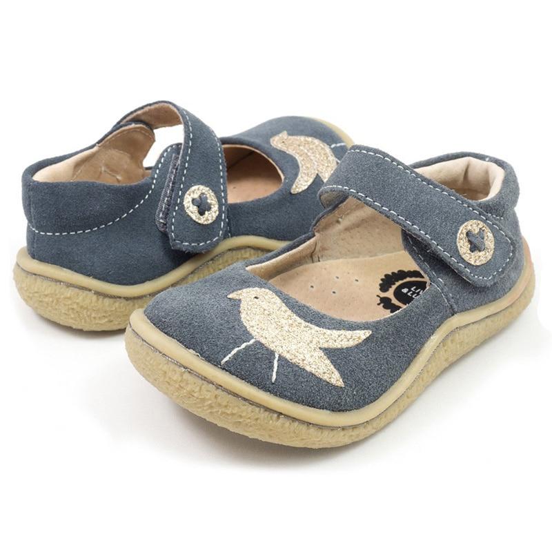 Tipsietoes niños descalzos 2018 bebé niño Mary Jane zapatos niñas PioPio de zapatillas de deporte de moda Niño Causal de cuero genuino
