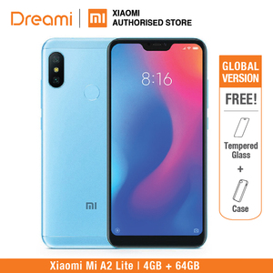 Image 2 - Global Version Xiaomi Mi A2 Lite 64GB ROM 4GB RAM (Black Color only) Official Rom