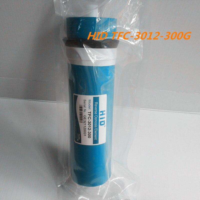 1 pcs 300 gpd d'osmose inverse filtre HID TFC-3012-300G Membrane Filtres À Eau Cartouches système ro Filtre À Membrane
