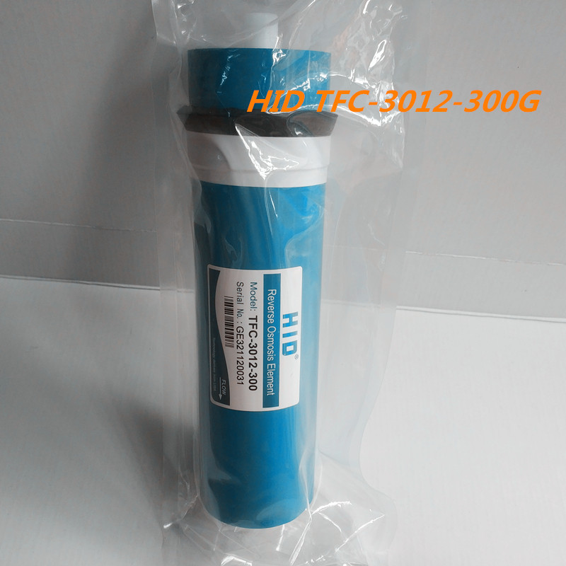 1pcs 300 gpd reverse osmosis filter HID TFC-3012-300G Membrane Water Filters Cartridges ro system Filter Membrane hid tfc 3012 200gpd ro membrane for 5 stage water filter purifier treatment reverse osmosis system nsf ansi standard