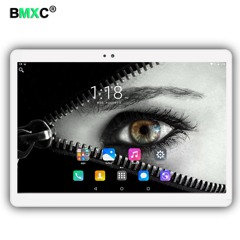 2017 Newest BMXC 10.1 inch tablet PC Android 6.0 Octa Core 4GB RAM 64GB ROM Dual SIM Card Bluetooth GPS Tablets pc 1920*1200 IPS