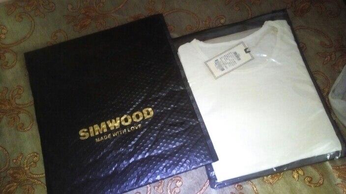 SIMWOOD Brand 2019 Hot Sale New Men Clothing T shirt Summer Short Sleeve O-neck Casual Slim Tops Tees Free Shipping 180050