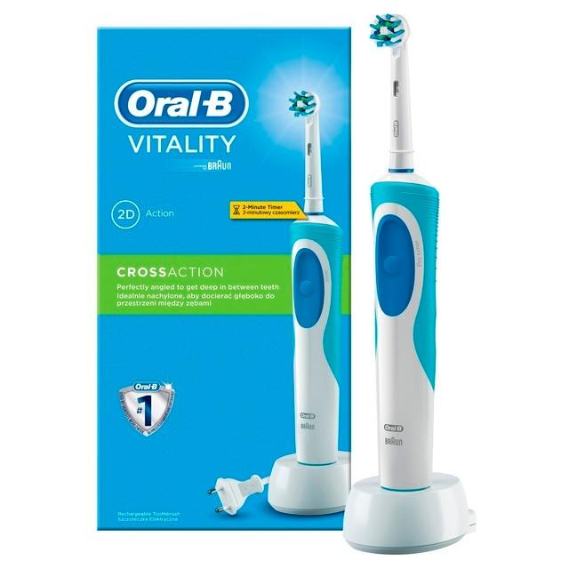 Электрическая зубная щетка Oral-B Vitality CrossAction (коробка)