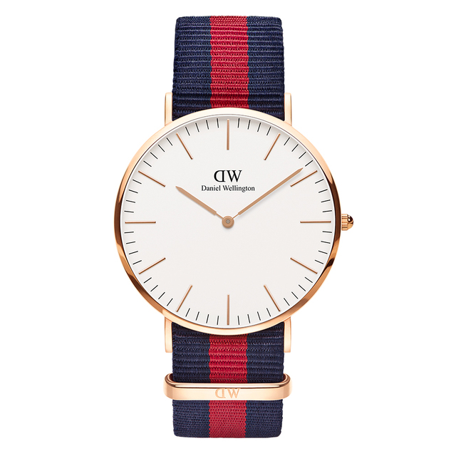 Наручные часы Daniel Wellington Classic Oxford 40 мм RG White