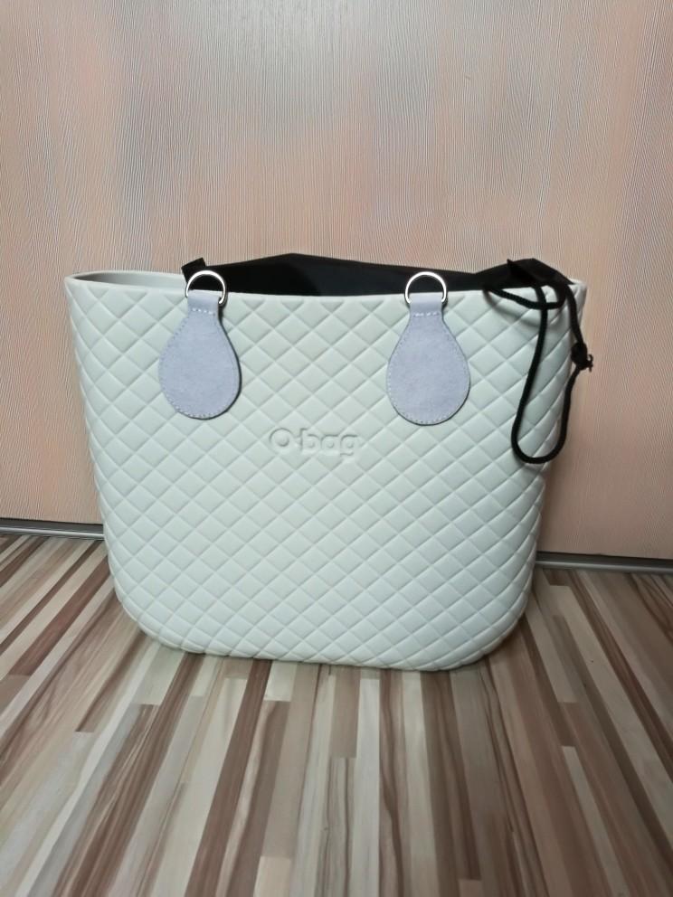 TANQU 2019 New 2 Pair 4 Pc Leather cashmere Drop End for Obag Handle Flannel Drop Attachment for O Bag Obasket DIY Women Bag photo review