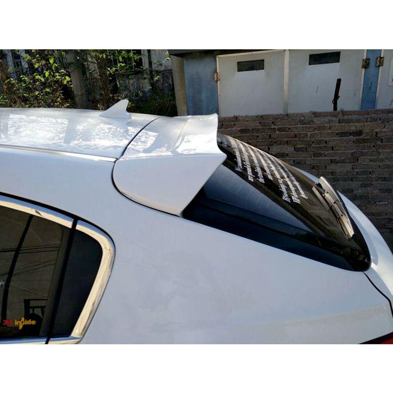 For Chevrolet Cruze Spoiler hatchback ABS Material Car Rear Wing Primer Color Rear Spoiler For Chevrolet Cruze Spoiler 2010-2014 for lancer spoiler evo abs material car rear wing primer color rear spoiler for mitsubishi lancer evo spoiler 2010 2014