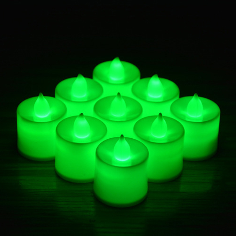 Candles Tealight Led Tea Light Flameless Flickering Wedding Home Room Decor