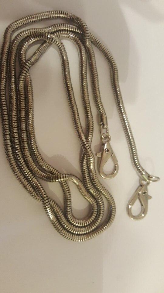 THINKTHENDO Fashion 120cm Cross Body Handbag Shoulder Bag Chain Strap Replacement Bag Accessories photo review