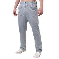 Mens Joggers 2017 Brand Male Trousers Men Pants Casual Cotton Blend Trousers Elastic Long Pants Sweatpants Black Plus Size 3XL