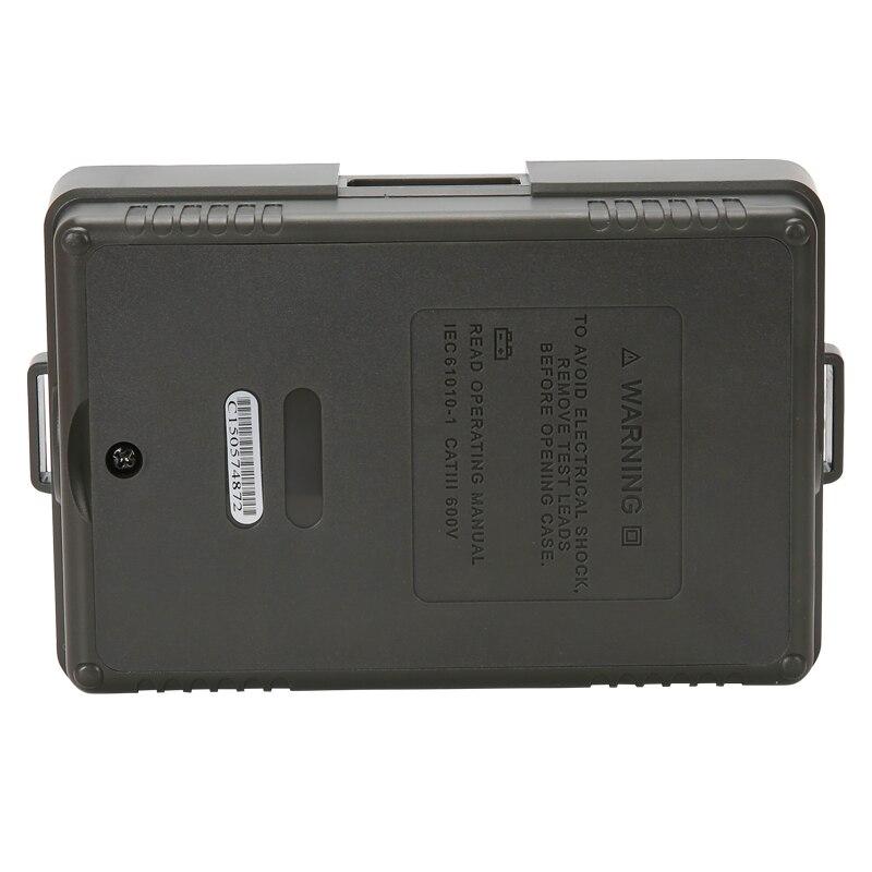 UNI T UT501A Insulation Tester; 1000V Digital Megohmmeter, Light/Buzzer Alarm, Over Load Indication, Automatic Discharge - 6