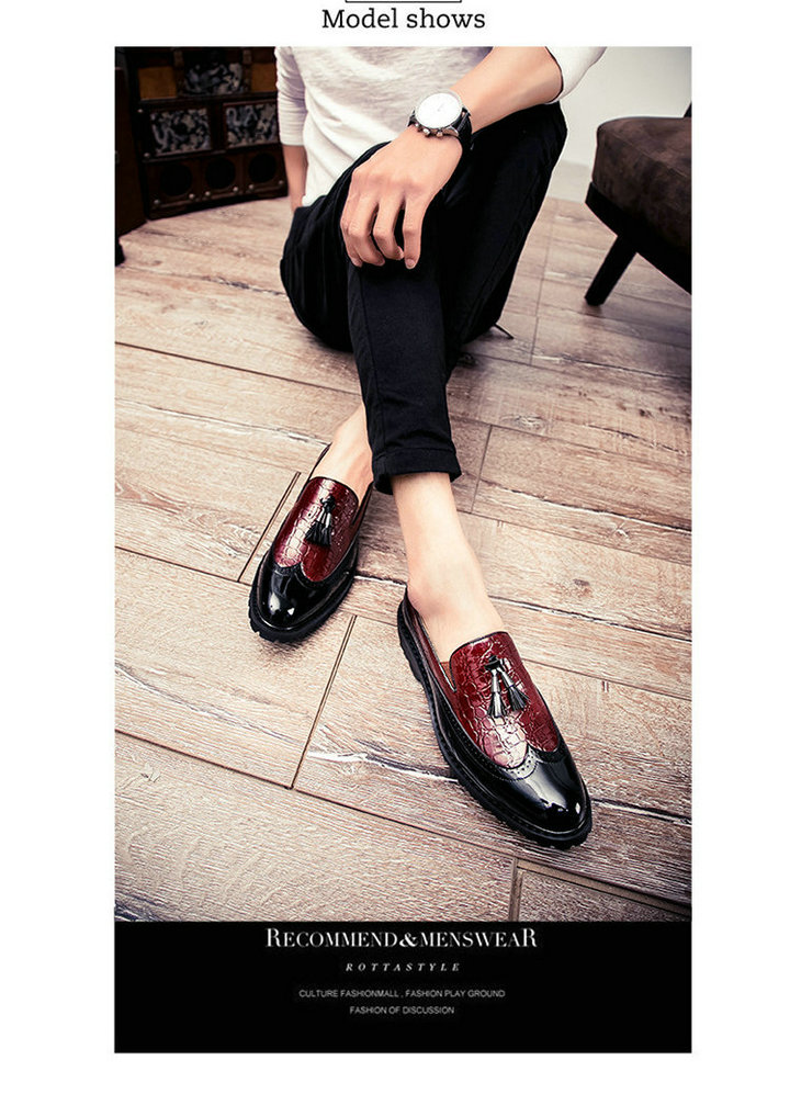 UTB8PKdXeYPJXKJkSafSq6yqUXXac Men Casual shoes breathable Leather Loafers Office Shoes For Men Driving Moccasins Comfortable Slip on Fashion Shoes MA-23