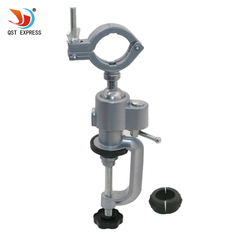 QSTEXPRESS 1PC Grinder Accessory Electric Drill Stand Holder Electric Drill Rack Multifunctional bracket used for Dremel