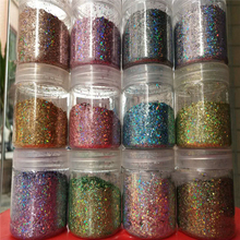 1 bag 50g Nail Glittes Holographic Ultra-thin Sequins Flakes Iridescent Paillette | Art for Gel & Acrylic ,APD54-JK01