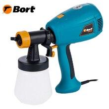Распылитель электрический Bort BFP-280 (Мощность 280 Вт, емкость бачка 700 мл, производительность 240 мл/мин, регулировка скорости)