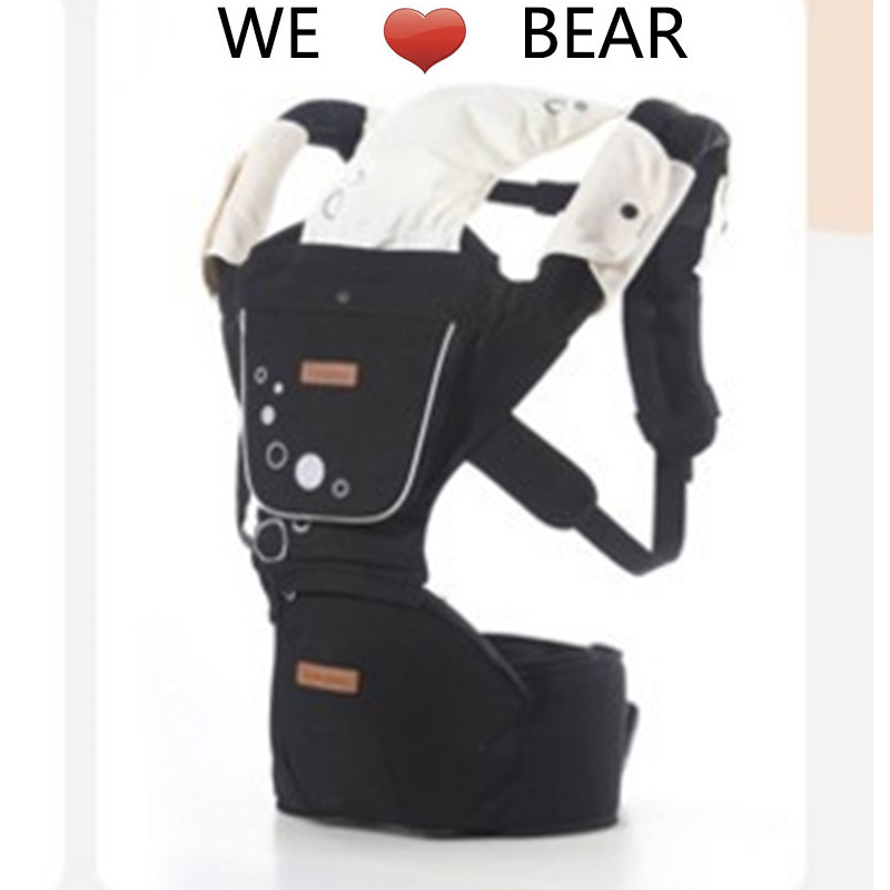 Multifunctional Cotton Baby Carrier for Newborn Ergonomic Cute Baby Carriers Kid Sling for All Seasons кенгуру для детей ergonomic baby carrier baby carriers 01