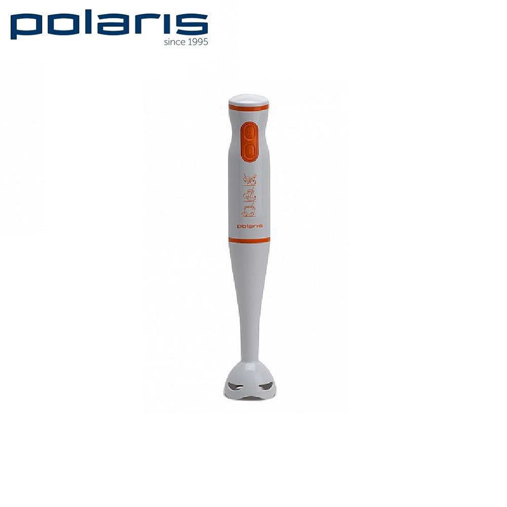 Blender submersible Polaris PHB 0508 (white and orange) Blender smoothies kitchen Juicer Portable blender kitchen Cocktail shaker Chopper Electric Mini blender blender русификатор