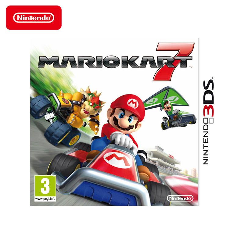Game Deals Nintendo Mario Kart 7 игровая приставка nintendo switch gray mario kart 8 deluxe