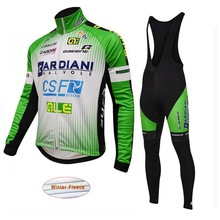 2018 Professional Team Bike Racing Suit Jersey Garment Set ALE MTB Bike Men's Bike Jersey Green Bike Clothing