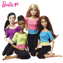 5 Styles Original Barbie Joint Movement Doll Gymnastics Yoga Dancer Soccer Player Barbie Doll Children Educational Toy Girl Gift-in Dolls from Toys & Hobbies on AliExpress