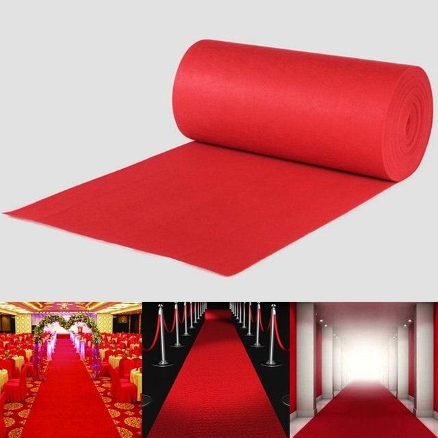 Polyester Großen Roten Teppich Hochzeit Gang Runner Teppich