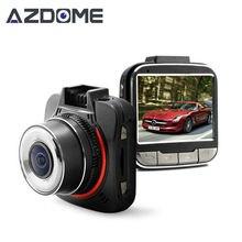 Azdome GS52D MINI Car Camera Ambarella A7 Auto Camera Video Recorder FHD 1296P 30fps 170 degrees 2.0 inch LCD HDR Dash Cam H25
