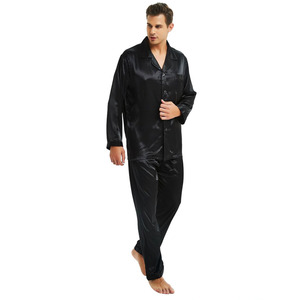 Image 5 - Mens Silk Satin Pajamas Set  Pajama Pyjamas Set  PJS  Set  Sleepwear  Loungewear  S,M,L,XL,2XL,3XL,4XL__Perfect  Gifts