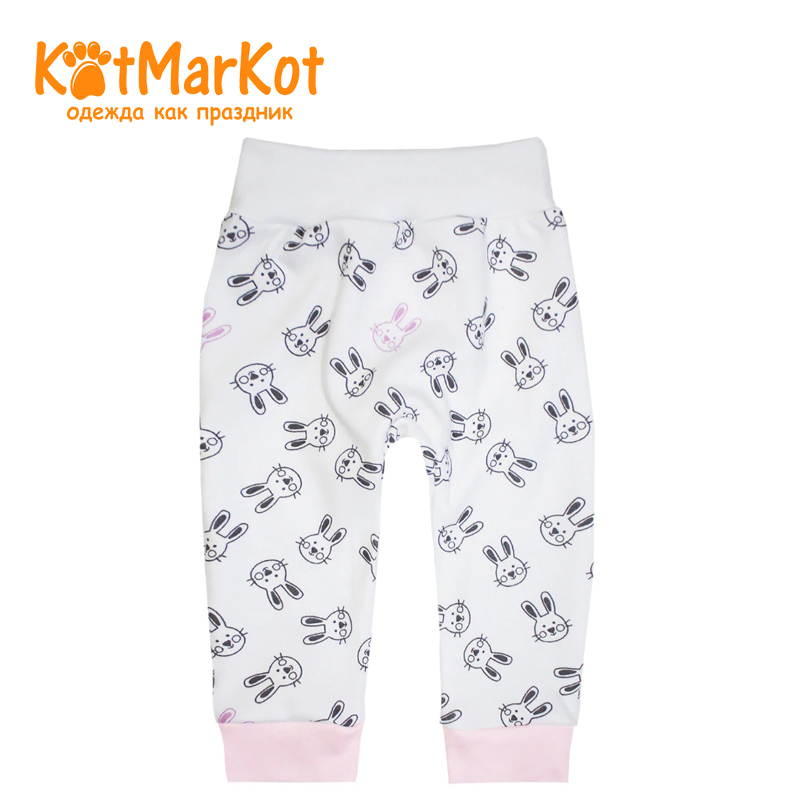 Pants For girls Kotmarkot 5879 kid clothes girls contrast tape pants
