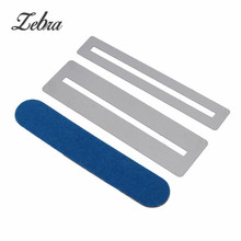 Zebra Bass Guitar Fret Repairing Tool Set Steel Fretboard Guard Protector Fretwire File Sanding Cleaning Polish Luthier Tool
