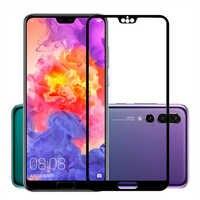 Pour Huawei Mate10 Lite P20 Pro verre trempé 2.5D 9 H couverture complète protecteur d'écran pour Huawei Honor v10 9 Mate10 P20 Lite P Smart