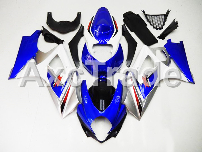 Motorcycle Fairings For Suzuki GSXR GSX-R 1000 GSXR1000 GSX-R1000 2007 2008 07 08 K7 ABS Plastic Injection Fairing Kit Blue 2153 rf radio frequency ultrasonic body slimming massage weight loss skin tighten rejuvenation fat remove cavitation device